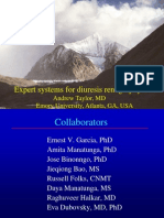 Expert Systems for Diuresis Renography