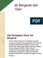 Harta Tak Bergerak Dan Capital Gain