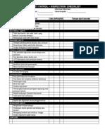 Checklist Safety Patrol