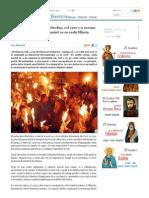 Mărturia Monahului Mitrofan, Cel Care S-A Ascuns În Podul Sfântului Mormânt CA Sa Vadă Sfânta Lumină - Dum, 23 Noi 2014 22-13-30 _ Doxologia