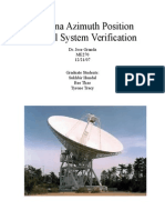Antenna Azimuth Position Control System Verification