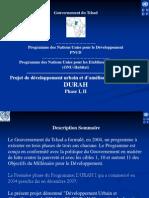 Projet de développement urbain et d'amélioration de l'habitat DURAH Phase I, II