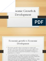 Economic Growth & Development Introduction ( Aahil & Harsh)