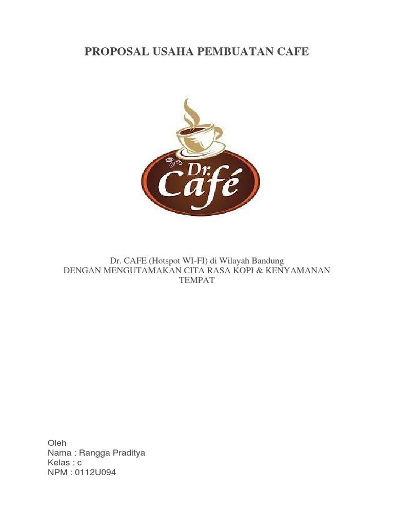 Proposal Usaha Pembuatan Cafe Docx