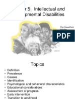 Chapter 5 Intellectual and Developmental Disabilities