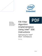 Fir Filter Sse Instructions Paper