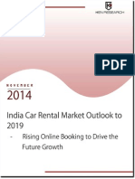 Trends and Development in the Indian car rental industry