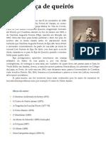 Biografia de Eça de Queiros