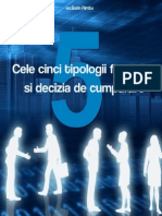 Cele 5 Tipologii Financiare Si Decizia Clientului