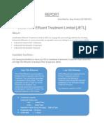 Final Jeedimetla Effluent Treatment Limited