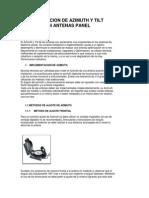 Configuración de Azimut y Tilt Eléctrico en Antenas RF