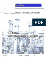 Lec#02 PDC - Design Aspects of a Process Control System