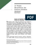 A Visão Brasileira Da Futura Ordem Global