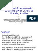 Carem Licensing Activities