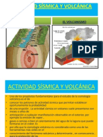 actividad ssmica y volcnica