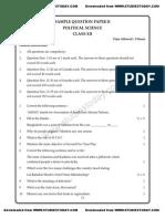 CBSE Class 12 Political Science Sample Paper 2013 (5).pdf