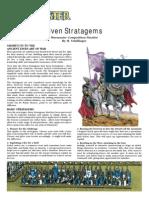 Elven Stratagems Warmaster
