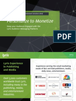 Digital Marketing Solutions for Publishing, Media & Entertainment | Lyris