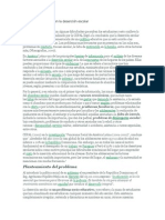 Factores Que Inciden en La Deserción Escolar