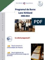 Programul de Burse Kirkland