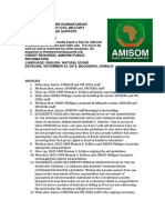 AMISOM AND HUMANITARIAN PARTNERS LAUNCH CIVIL-MILITARY GUIDELINES FOR AID SUPPORT