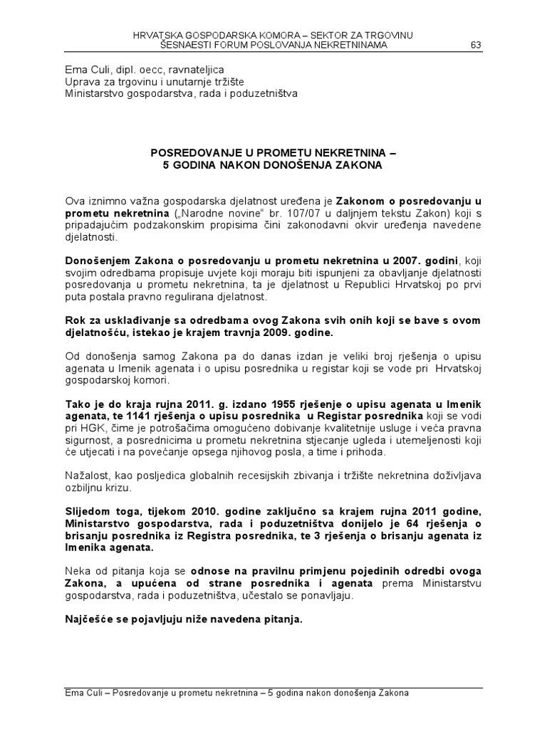 Socijalista Disciplinski Prijetnja Prirucnik Za Polaganje Ispita Za Agenta U Prometu Nekretnina Electricitepjc Com