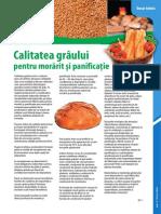 Broșură - Condiționarea cerealelor