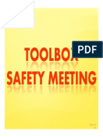 14. Toolbox Meeting