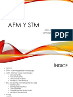 Espectroscopia AFM y STM
