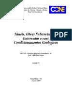 Túneis, obras subterrâneas e enterradas e seus condicionamentos geológicos.doc