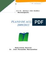 Plano de Acção - 2009-2013