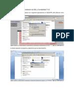 Instalación de SQL y Contabilidad 7