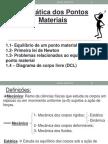 1-Estatica Dos Pontos Materiais (1complementyado