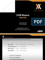 Module Basic-uvm Session8 Reporting