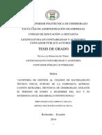 AUDITORIA DE GESTION A UN COLEGIO