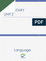 English course basics 2