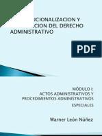 Modulo Derecho Administrativo