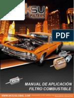 Catalogo Filtros Combustible MILLARD COLOMBIA