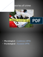 Crime 5 Socilogical Theories