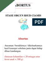 Stase Obgyn (ABORTUS).ars.ppt