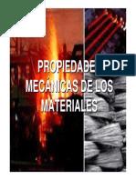 Propied Mecanicas de Los Materiales
