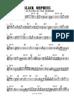Black Orpheus - Paul Desmond Alto Saxophone