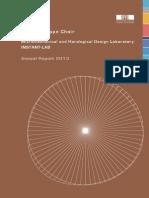 Annual Report Instant Lab 2013