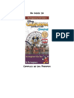Imagineering Field Guide to Disney Califorinia Adventure Index