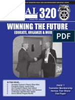 Teamsters Local 320 Fall 2014 Newsletter