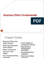 Business Ethics Fundamentals power point