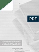 Fundamentos Do Texto Em Lingua Inglesa II Online