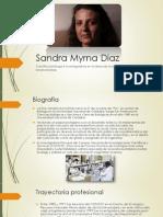 Sandra Myrna Diaz - Sintesis