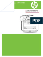 Hp Lj m1522 Mfp Manual Toc