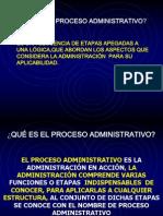 Proceso Administrativo .